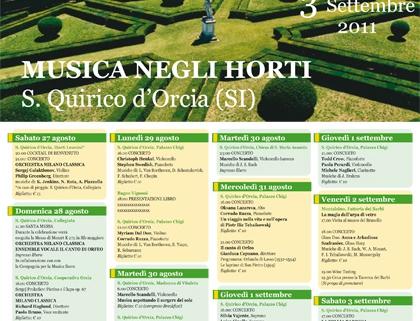 Locandine festival musicali