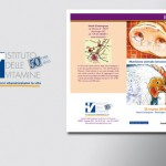 Grafica per brochure informative