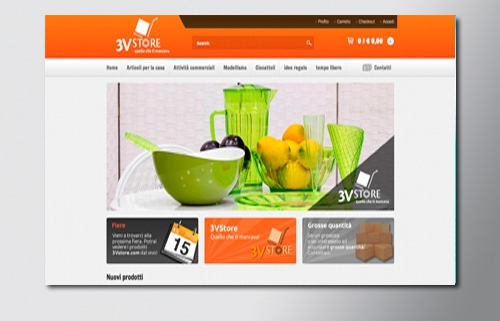 Siti web e-commerce Melzo
