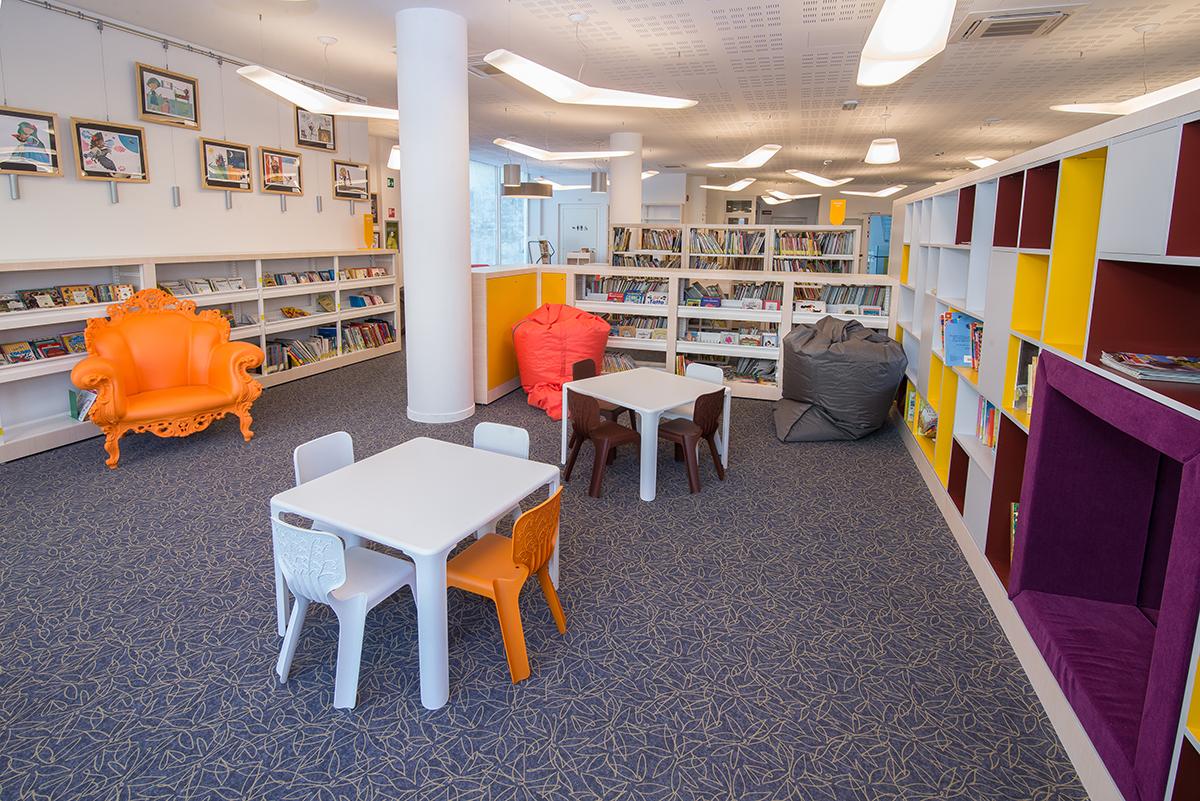 Nuova Biblioteca di Melzo (MI)